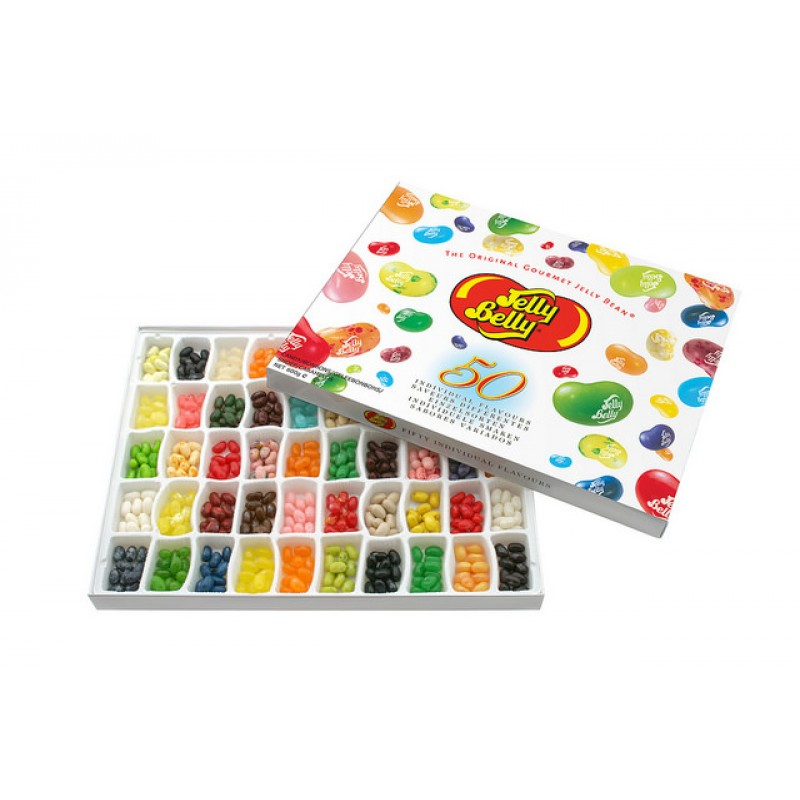 Jelly Belly 50 Flavours Gift Box