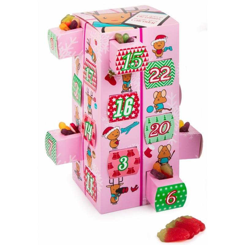 Haribo Sweets Pink Advent Calendar