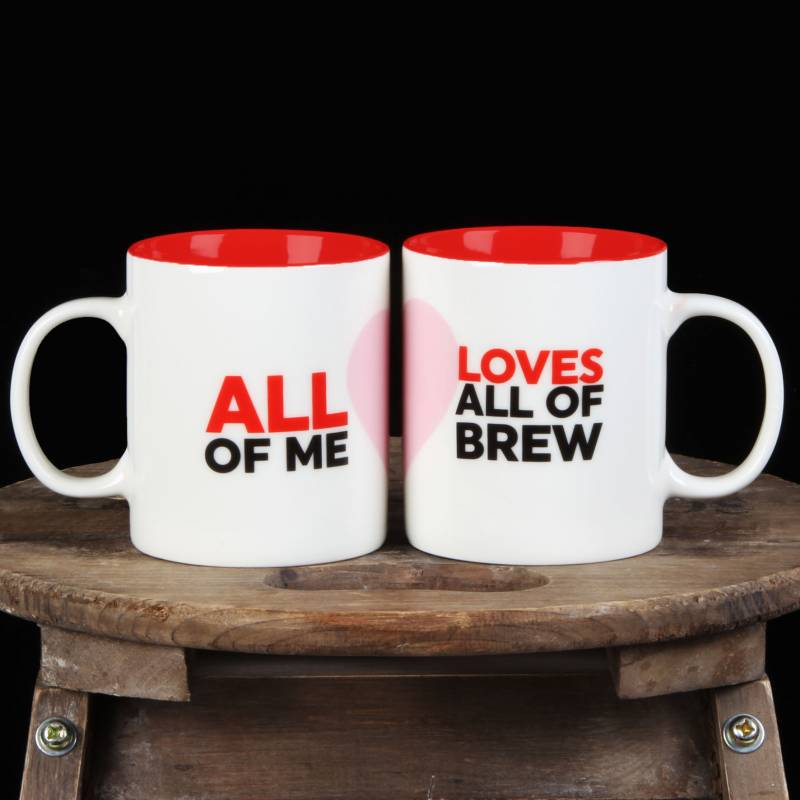 Couples Loves A Brew Pair of Mugs