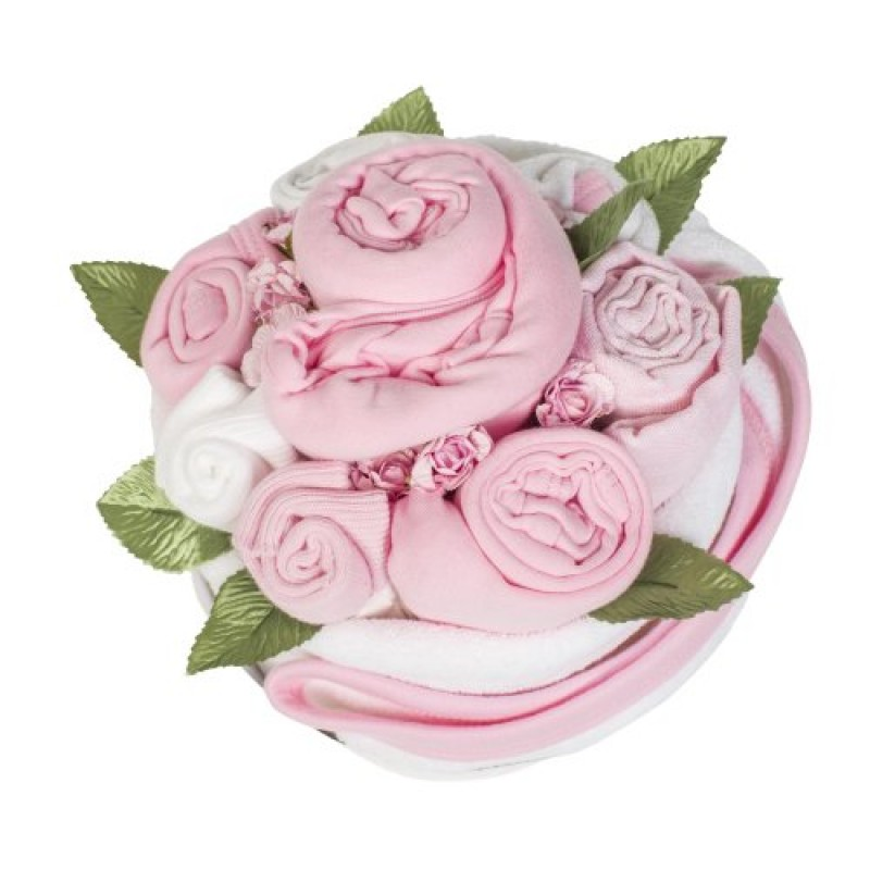 Baby Girl Pink Cupcake Bouquet