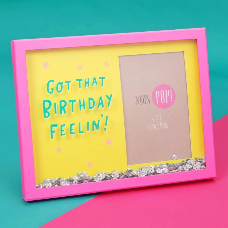 Birthday Feeling Photo Frame