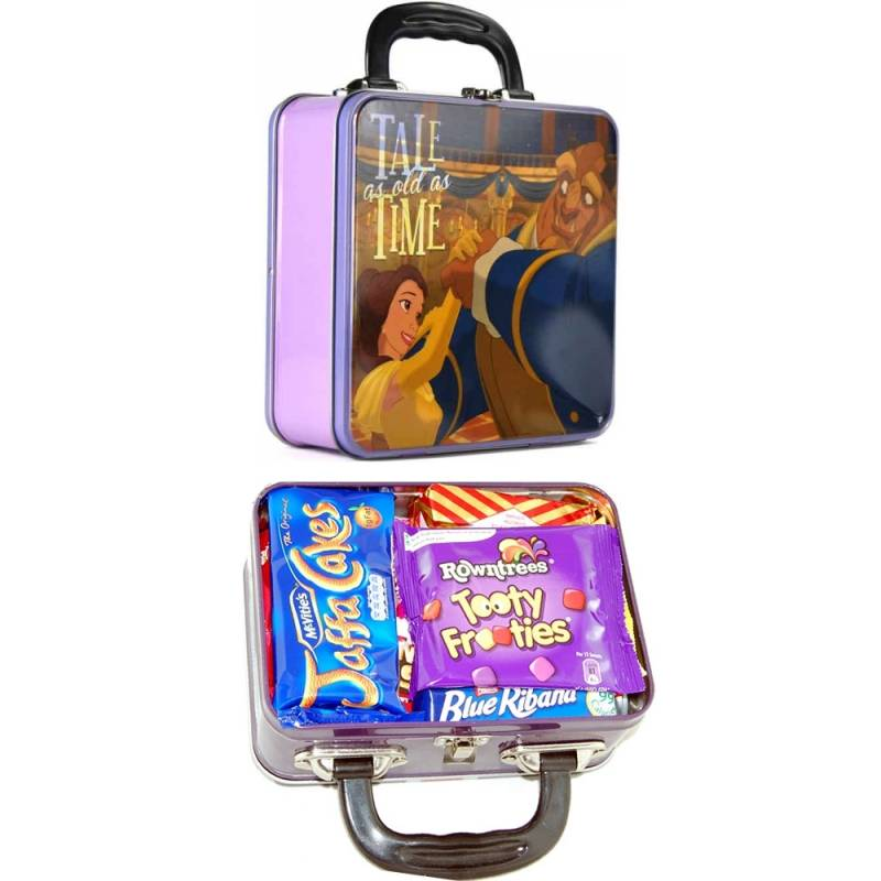 Beauty and the Beast Retro Lunch Tin