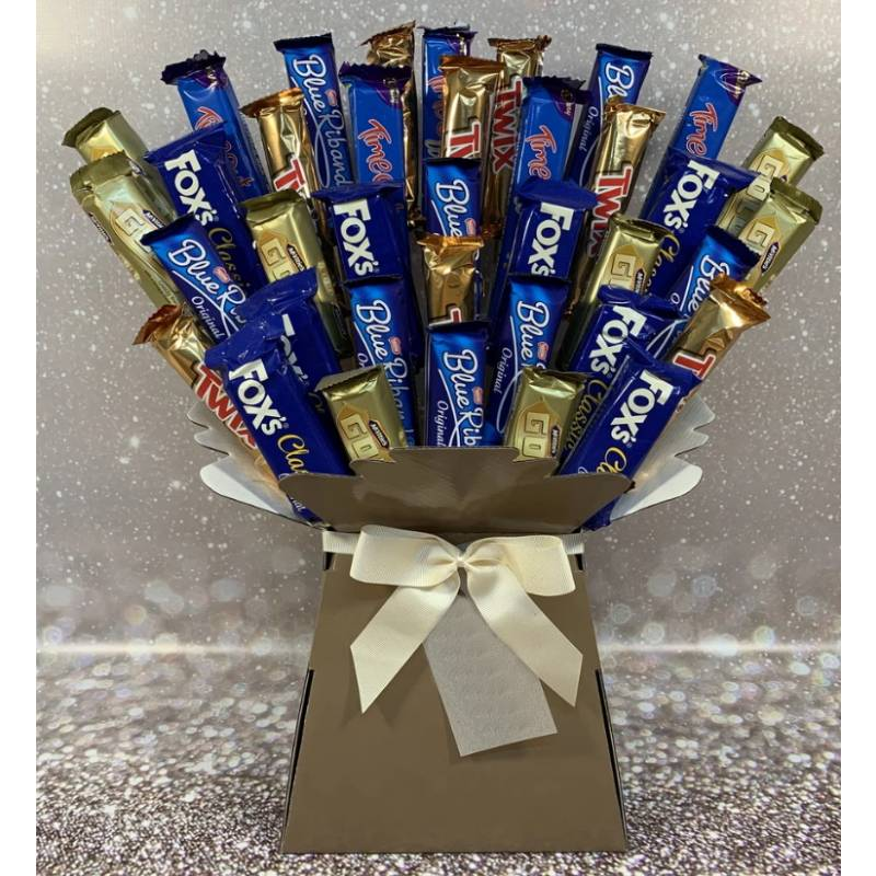 Funky Chocolate Biscuit Bouquet
