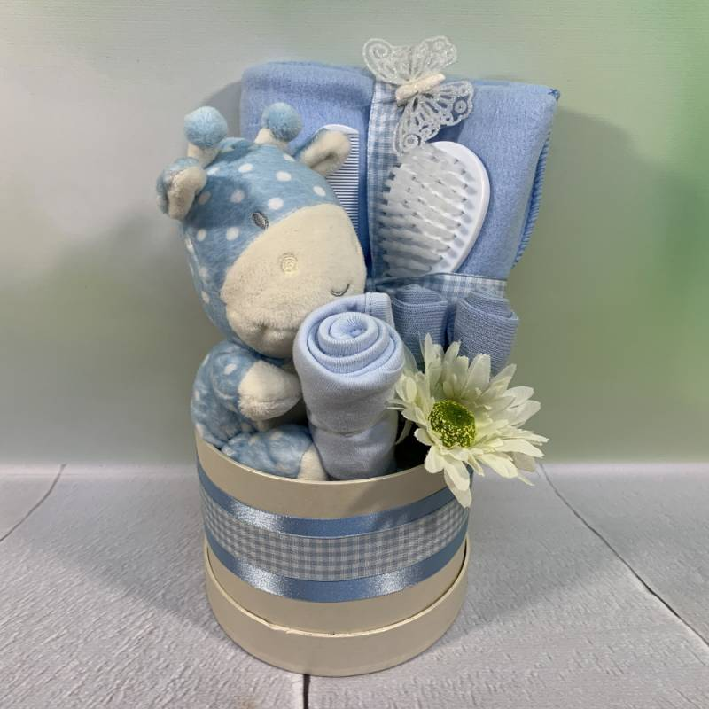 New Baby Boy Luxury Small Hat Box