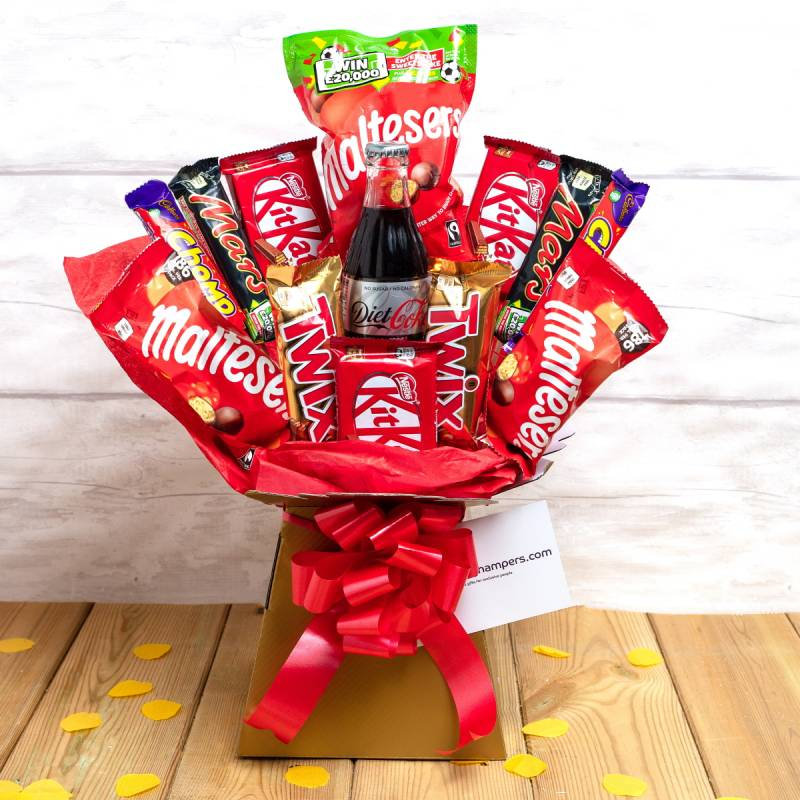 The Coke and Chocolate Bouquet