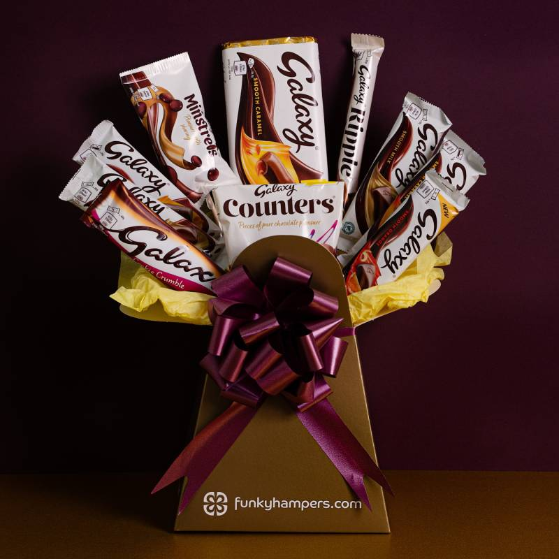 Galaxy Chocolate Lovers Bouquet