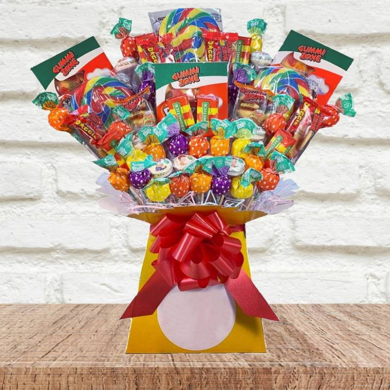 The Lolly and Gummy Sweets Bouquet