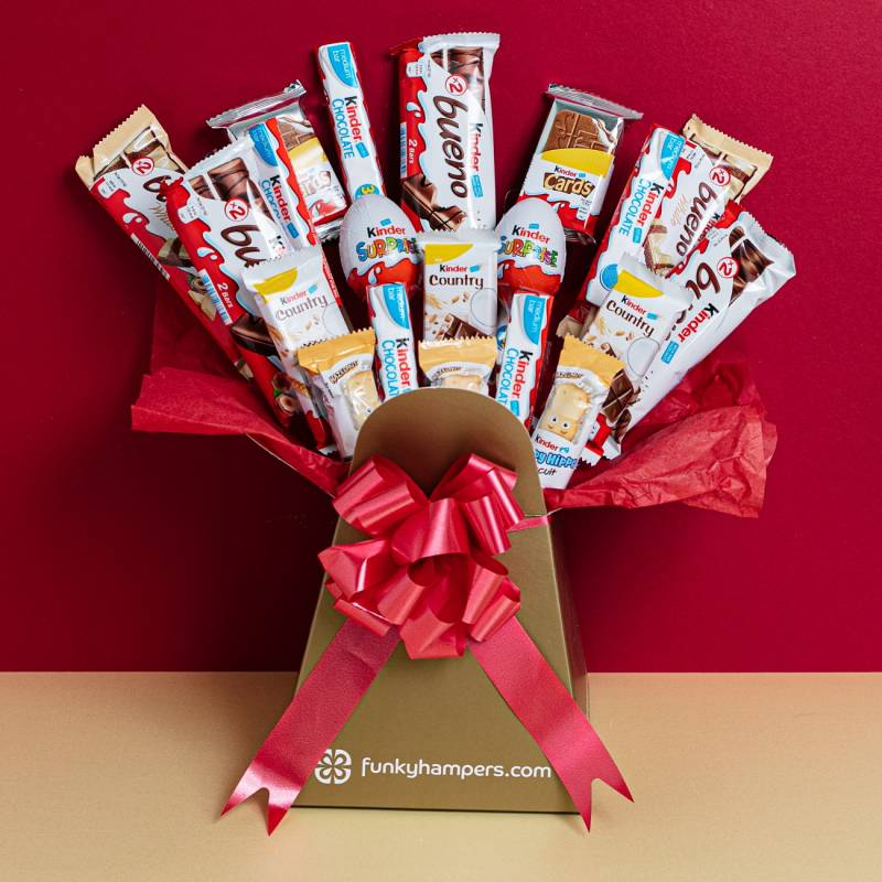 The Kinder Chocolate Bouquet
