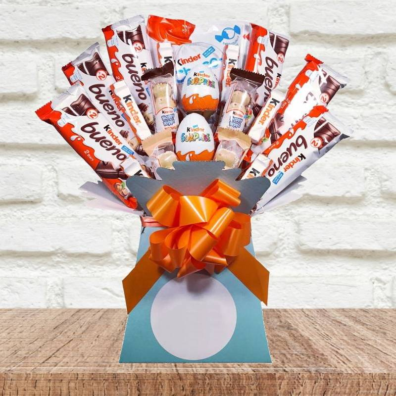 Kinder Chocolate Bouquet