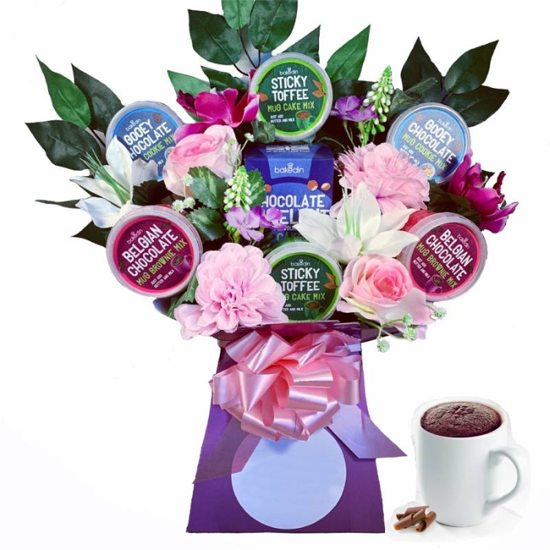 The Funky Mug Cakes Bouquet