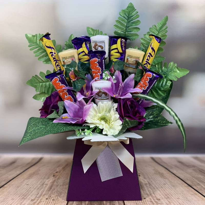 Yankee Candle and Cadbury Chocolate Bouquet
