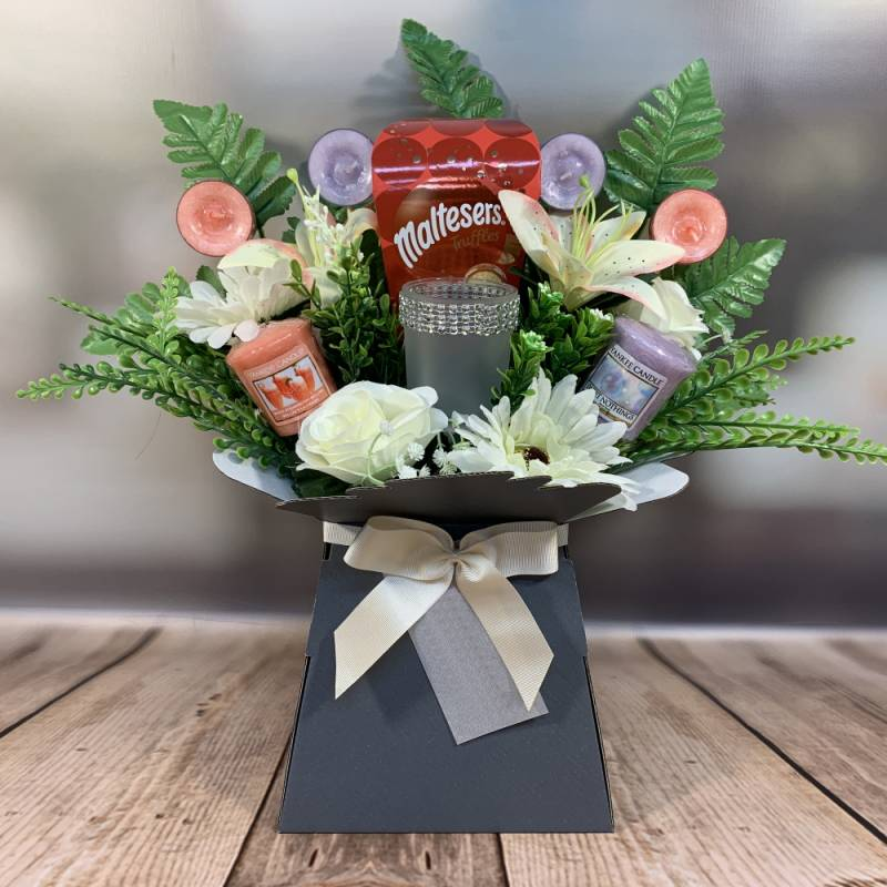 Yankee Candle and Truffles Bouquet