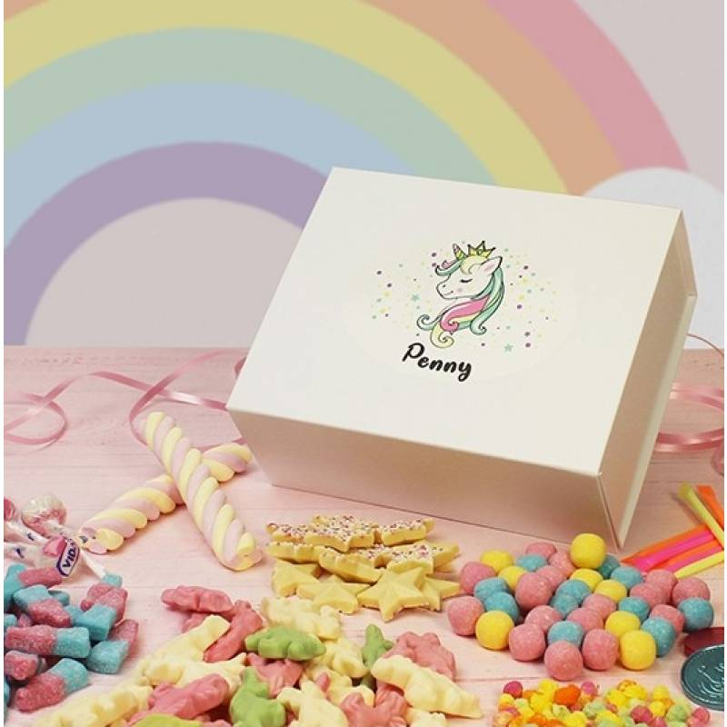 Personalised Unicorn Sweet Hamper
