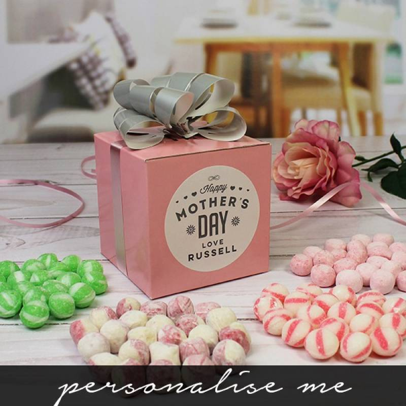 Personalised Mothers Day Sweet Cube