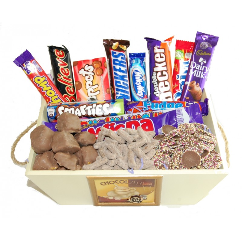 Chocoholics Chocolate Delights Hamper
