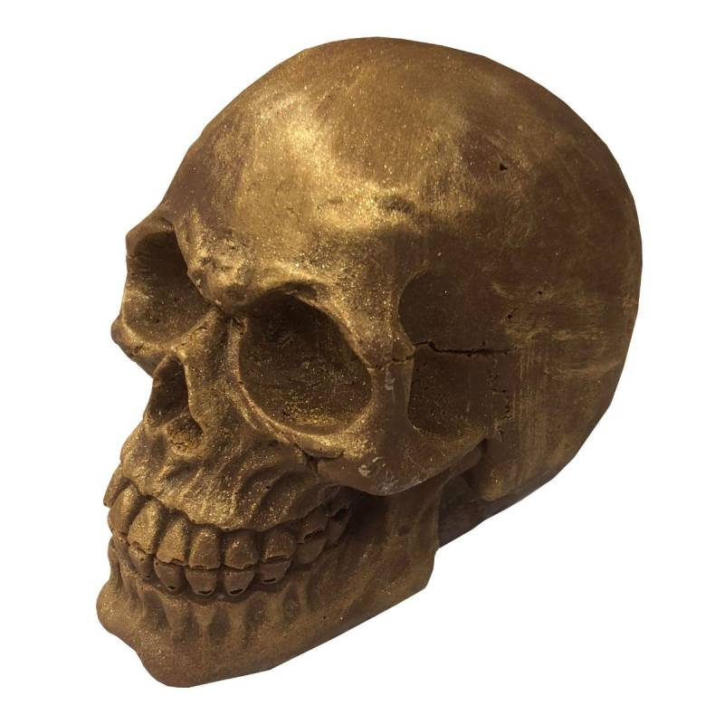 Solid Belgian Chocolate Skull