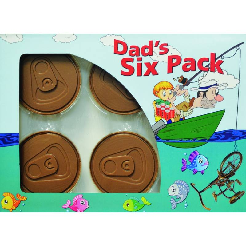 Dads Chocolate 6 Pack of Beers