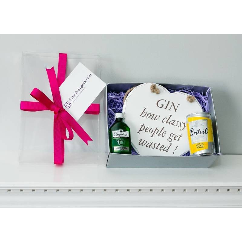 Gin and Tonic Classy People Gift Box