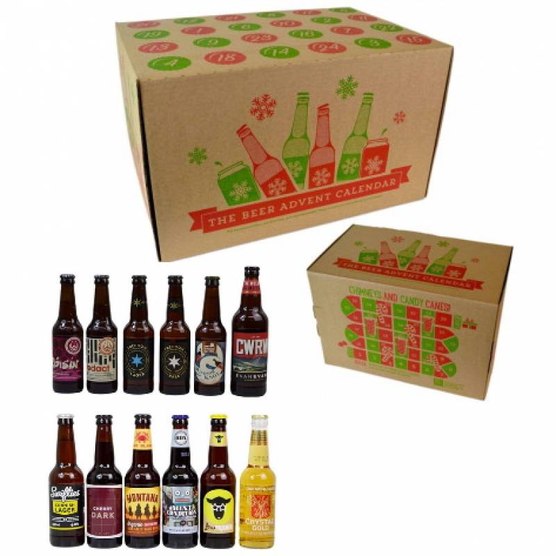 craft beer advent calendar craft advent calendar funky hampers 3724