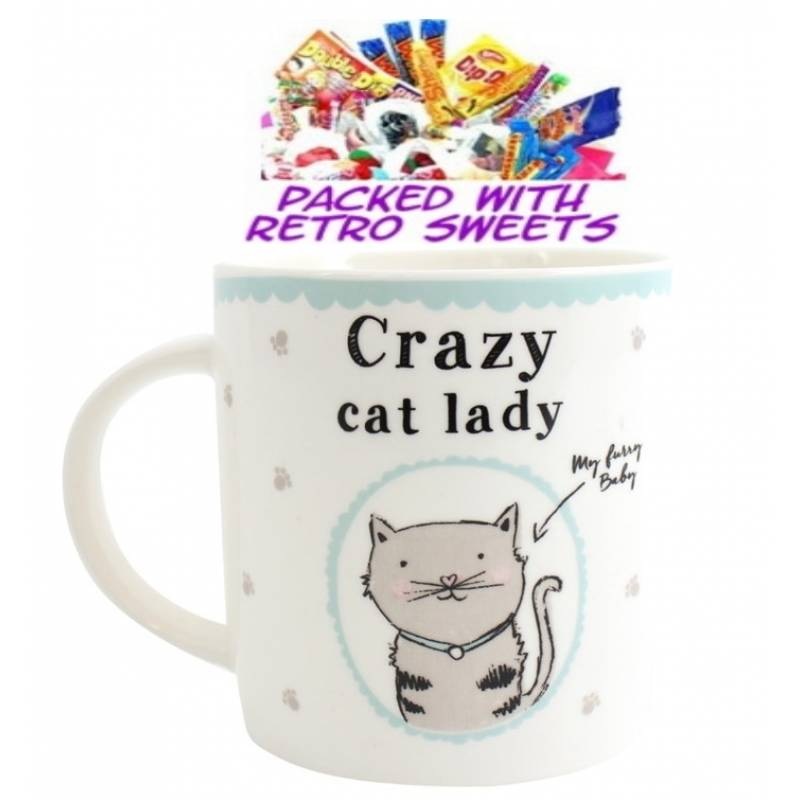 Crazy Cat Lady Cuppa Sweets