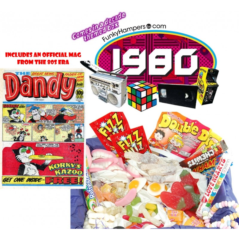 Dandy 80s Sweets Box