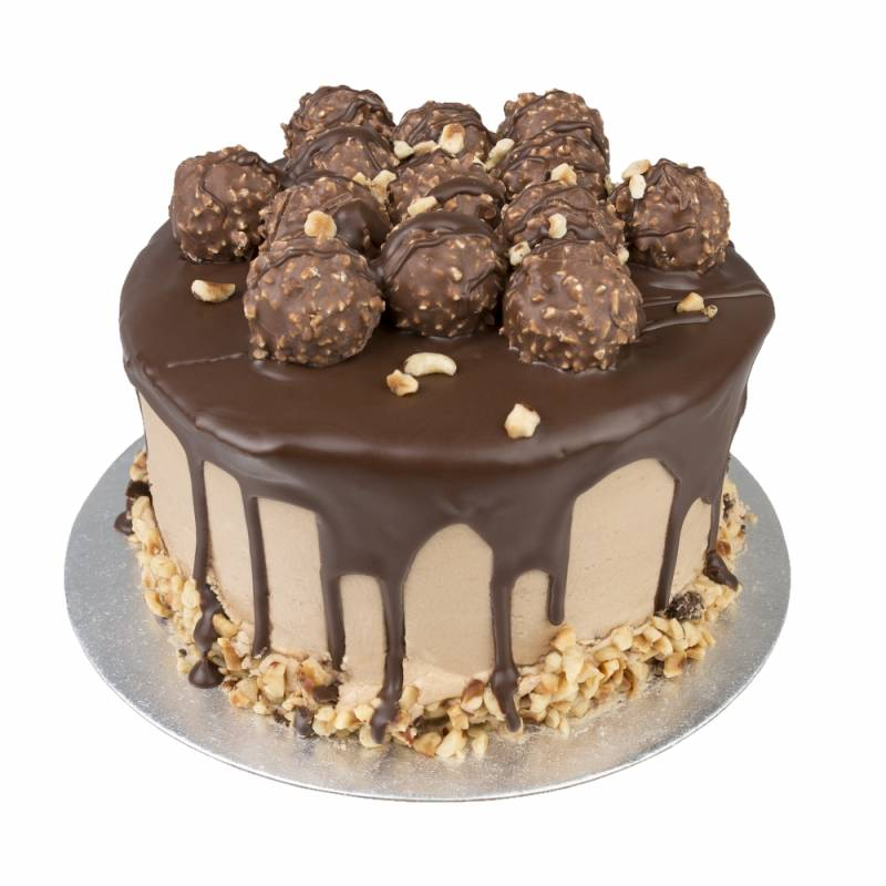 Ferrero Rocher and Nutella Cake