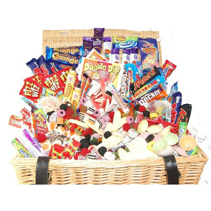 The Giant Retro Sweet And Chocolate Hamper