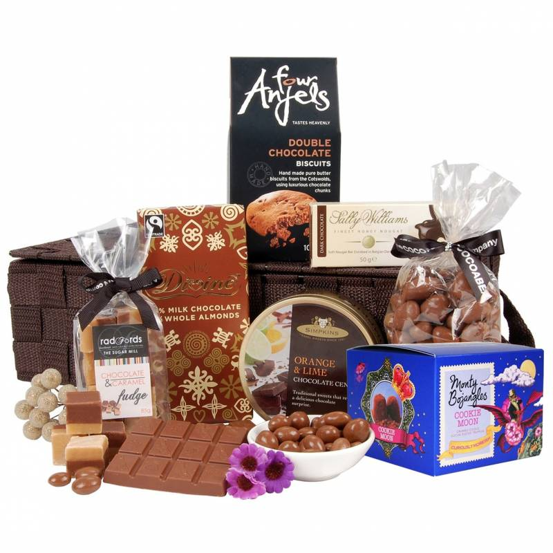 The Chocolate Lovers Gift Basket