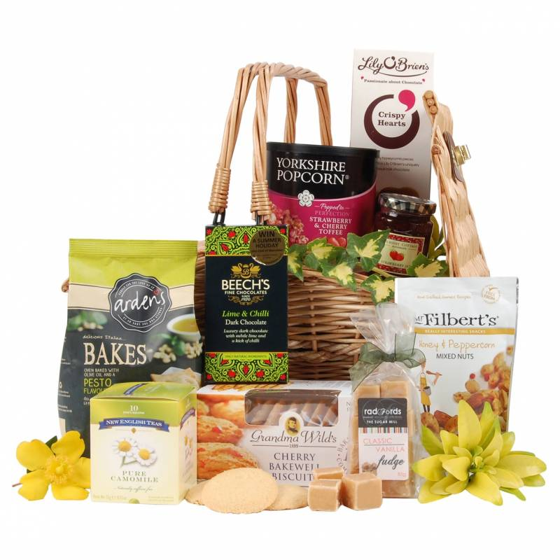 The Mouth Watering Treats Basket