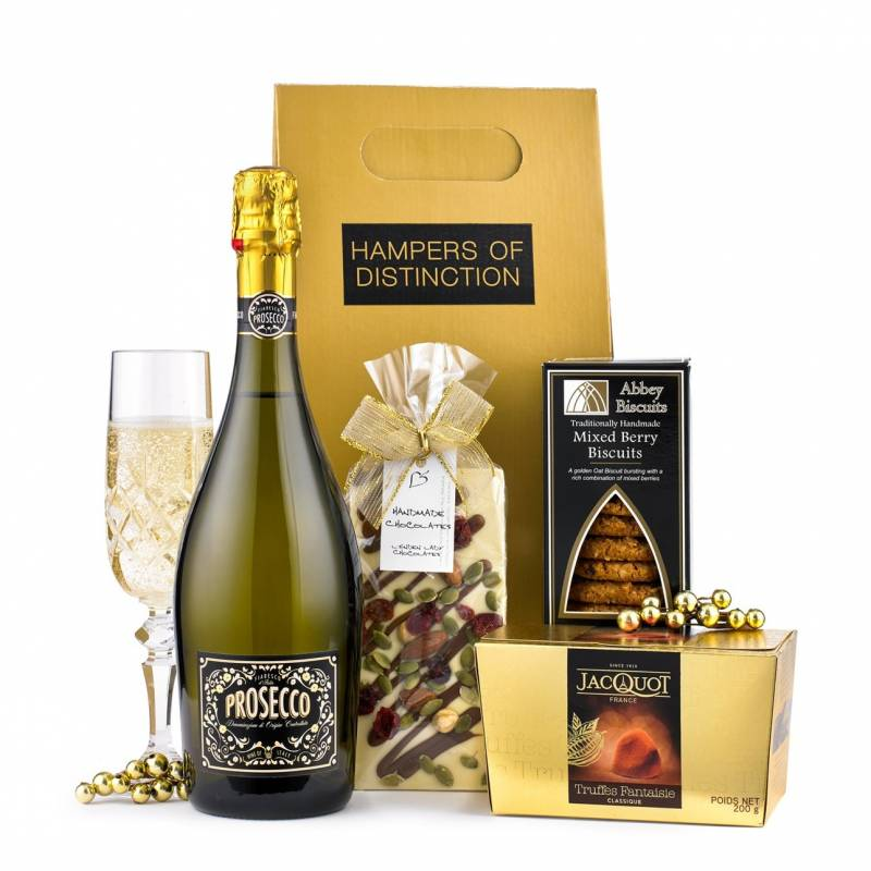 Prosecco and Gourmet Chocolates Gift