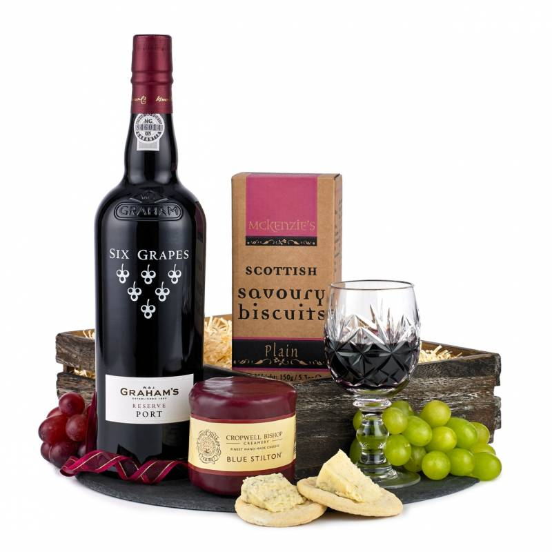 Port, Stilton and Crackers Hamper