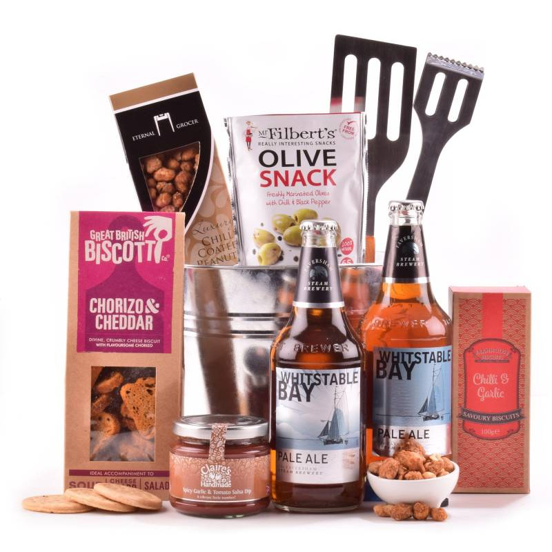 Beer and Bar Snacks BBQ Hamper