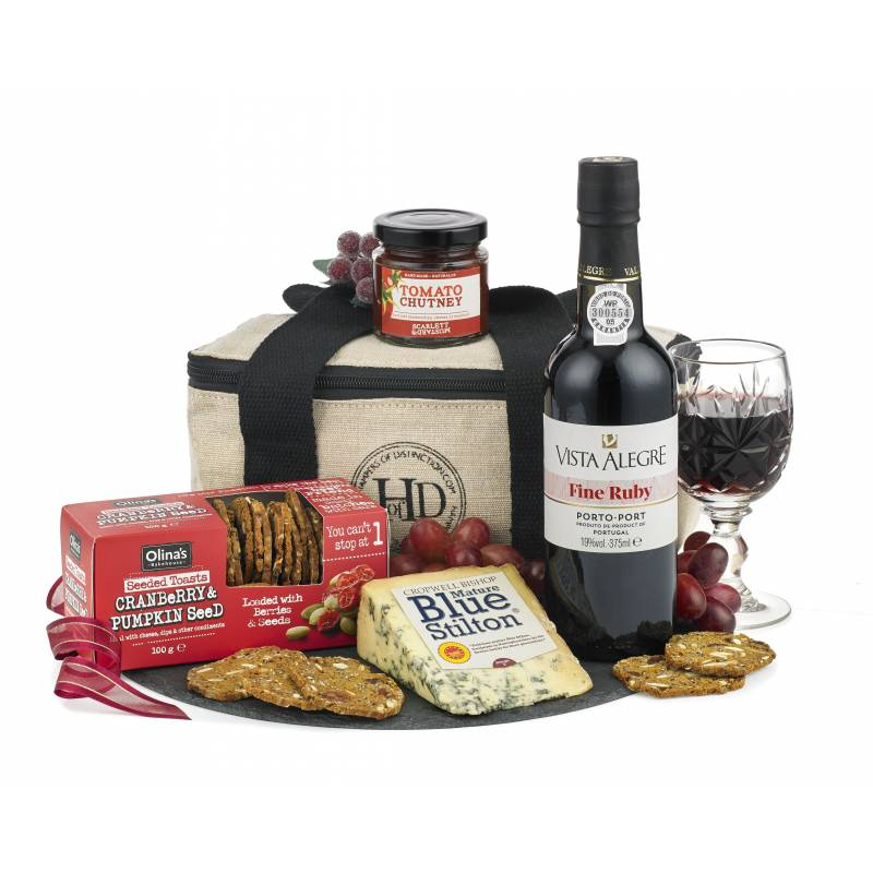 The Port and Stilton Cool Bag Gift