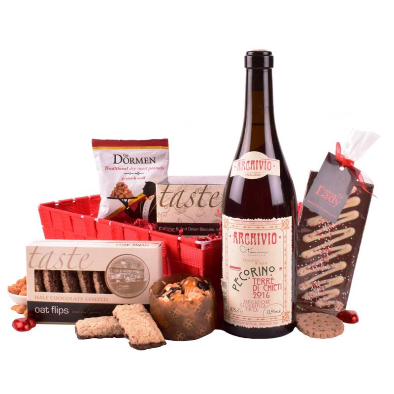 The Red Wine and Nibbles Hamper