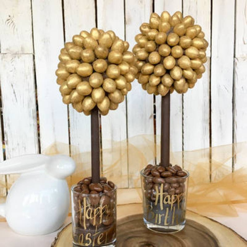 Personalised Galaxy Golden Egg Tree