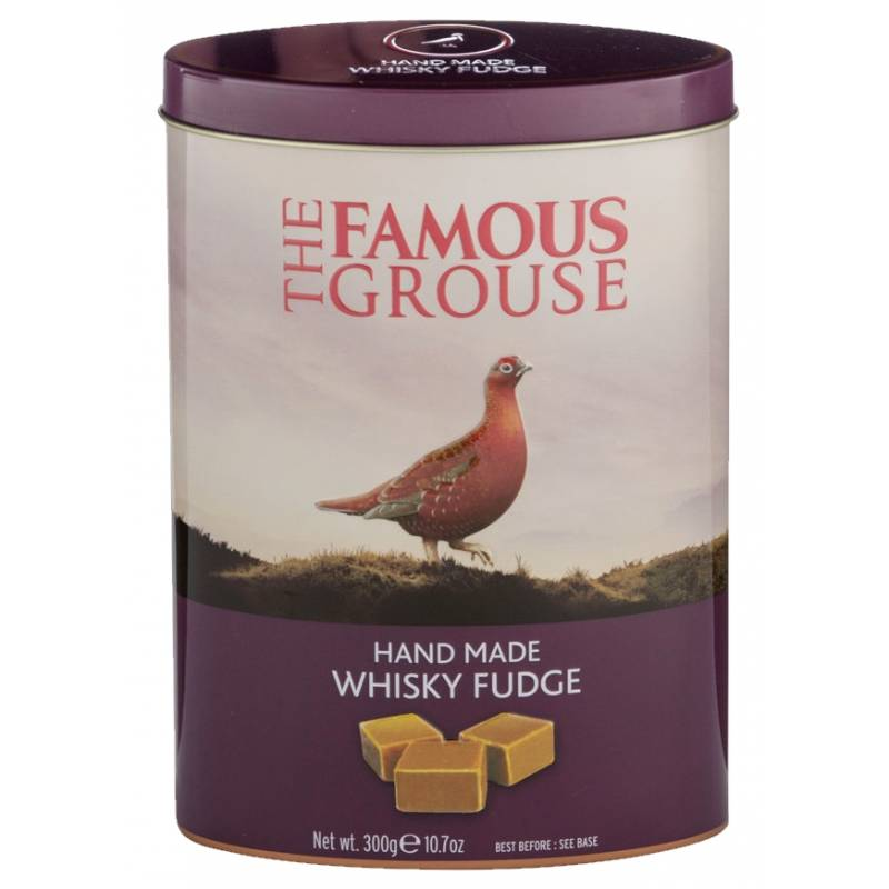 Famous Grouse Whisky Fudge Tin