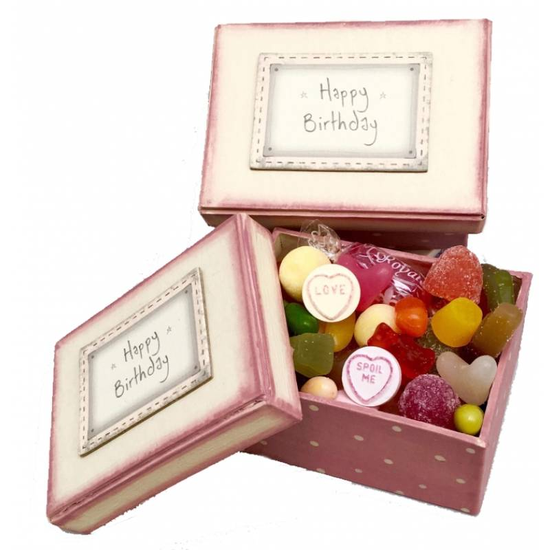 Happy Birthday Keepsake Sweet Box