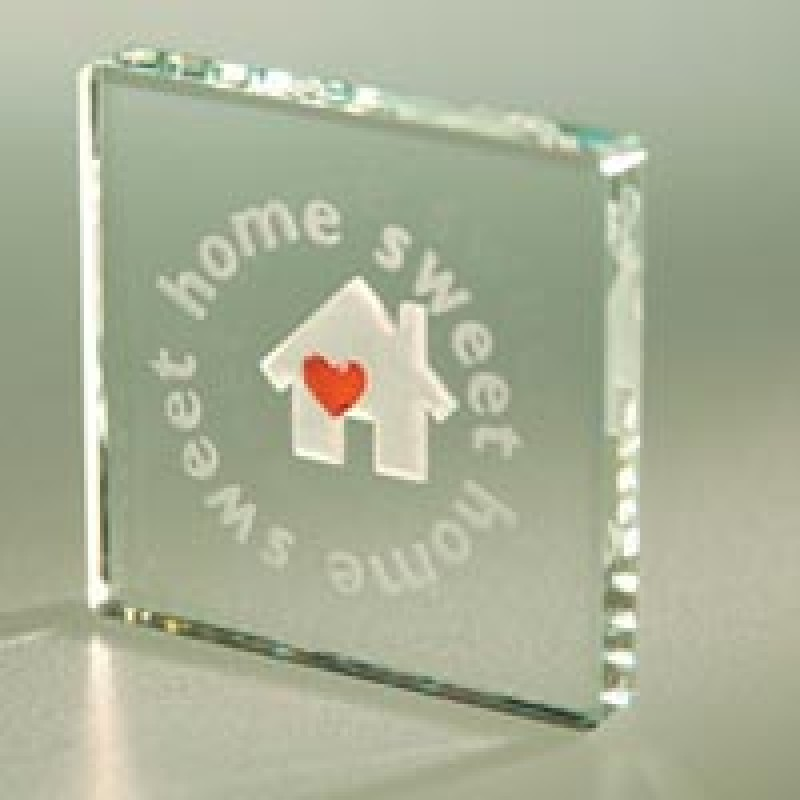 Home Sweet Home Glass Gift Token