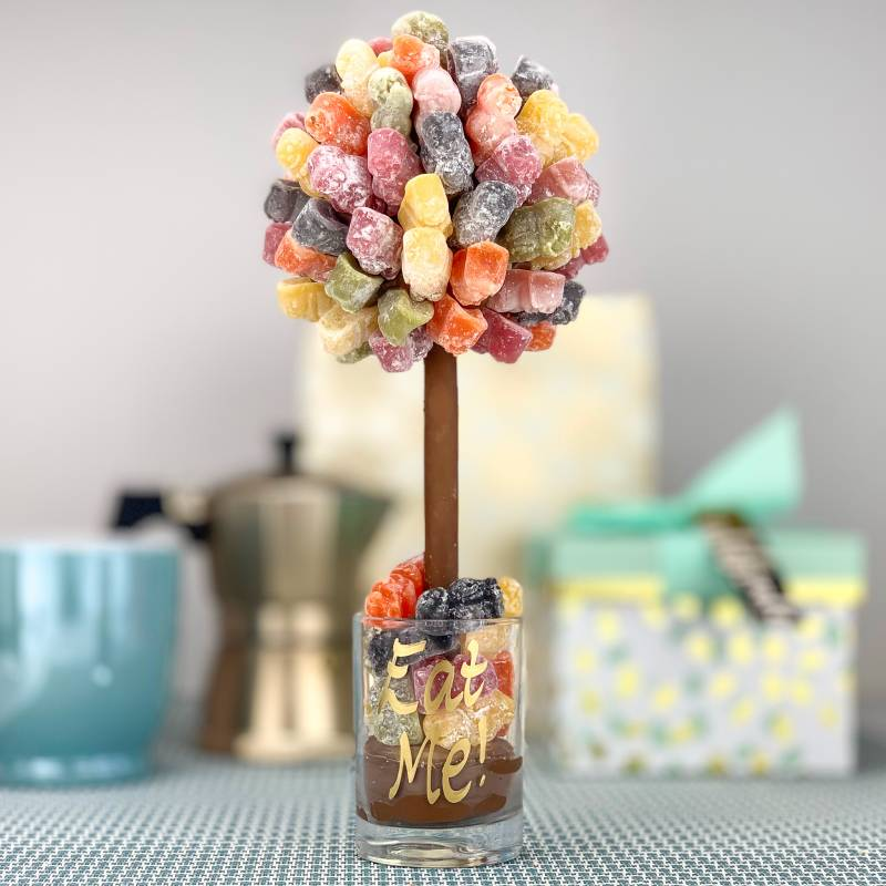 Personalised Jelly Baby Funky Sweet Tree 25cm