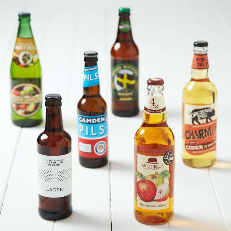 Six Pack Lager and Cider Gift