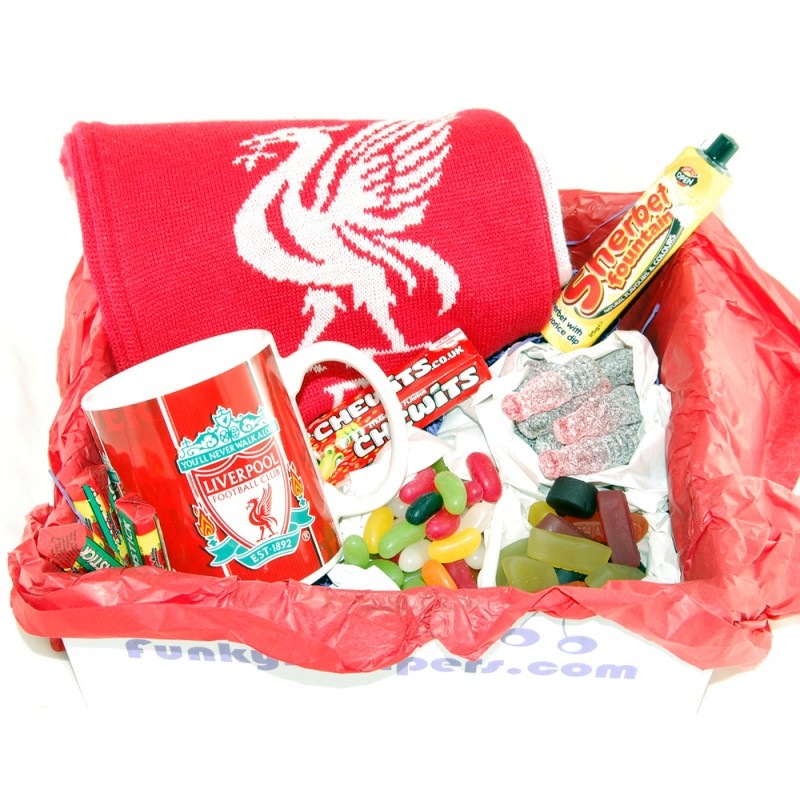 Baby Gift Baskets Liverpool : Liverpool gift box funky hampers