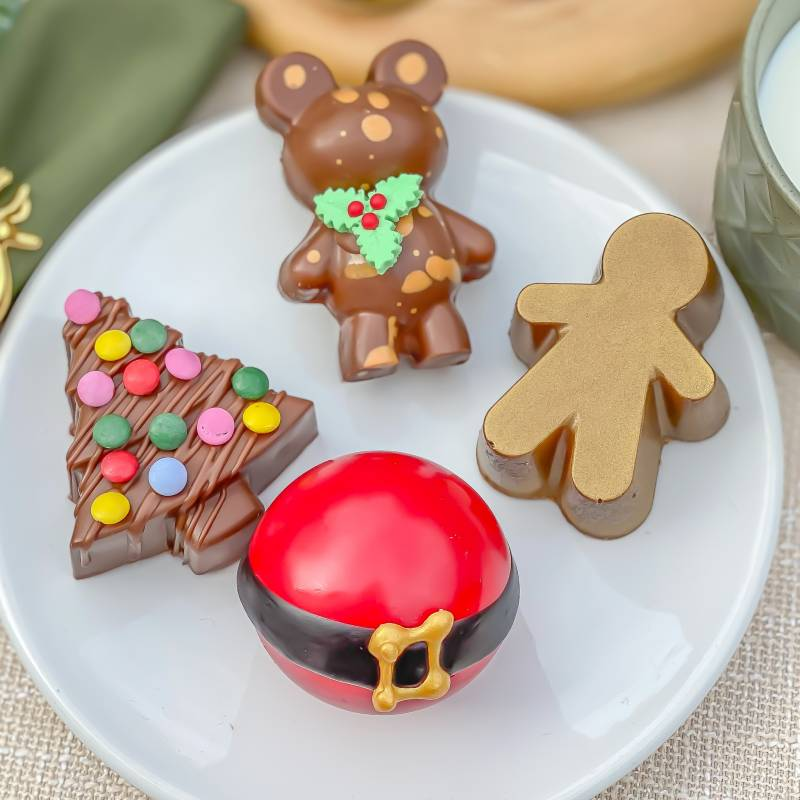 Loaded Christmas Decorations and Hot Choc Baubles