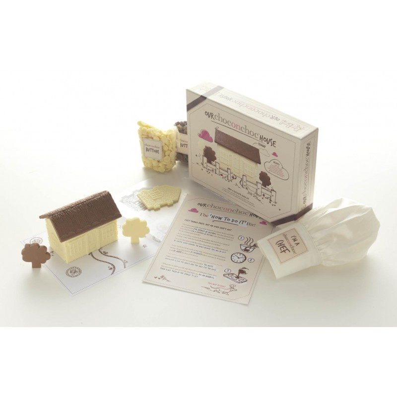 Make Your Own Chocolate House Funky Hampers