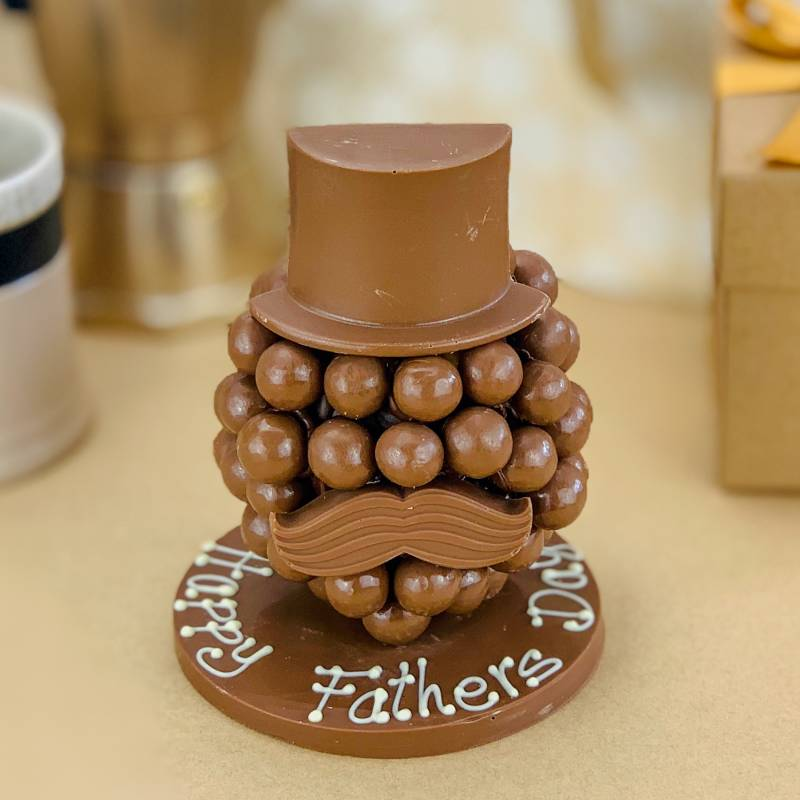 Personalised Malteser Chocolate Head