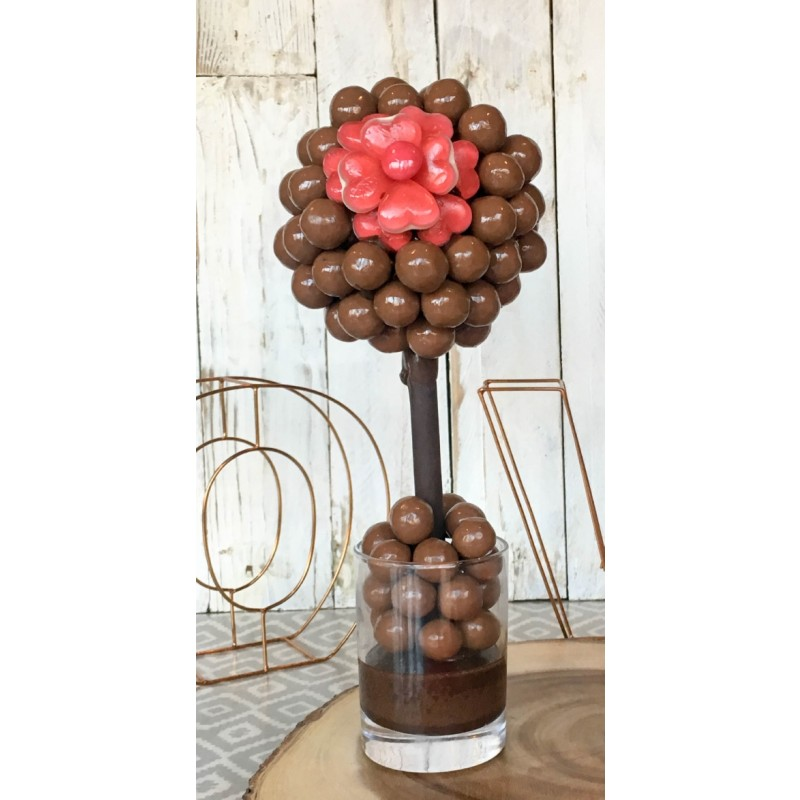 Malteser and Haribo Flower Sweet Tree 25cm