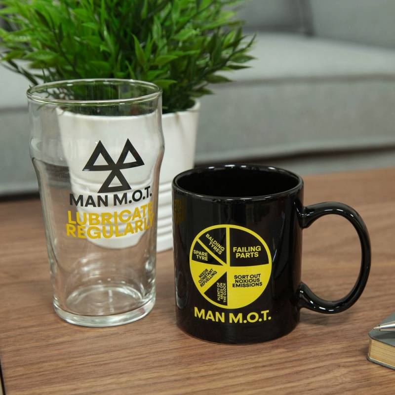 Man MOT Drink Set