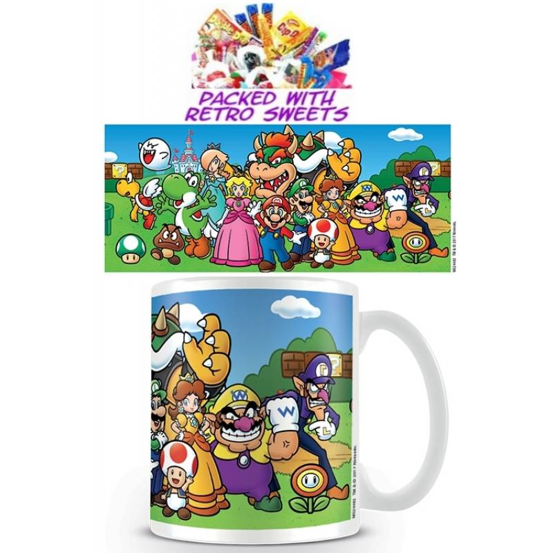 Mario Brothers Collage Cuppa Sweets