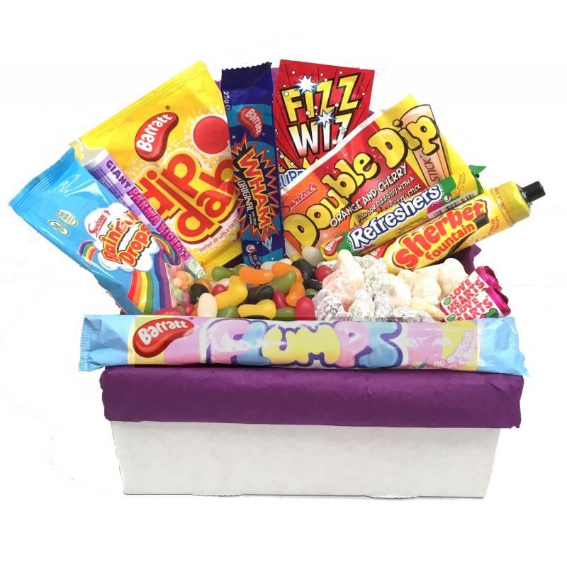Medium Retro Sweet Tuck Box