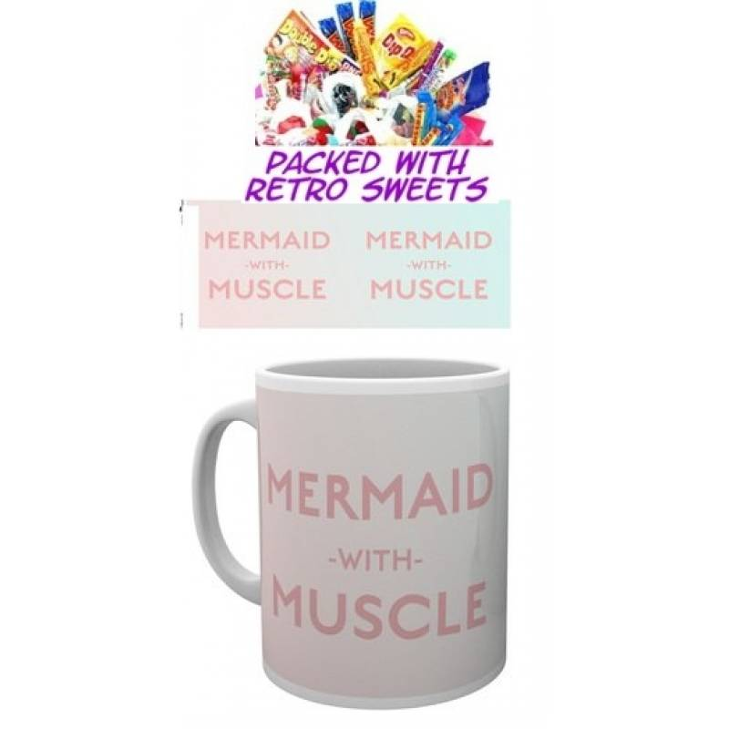 Mermaid With Muscle Cuppa Sweets