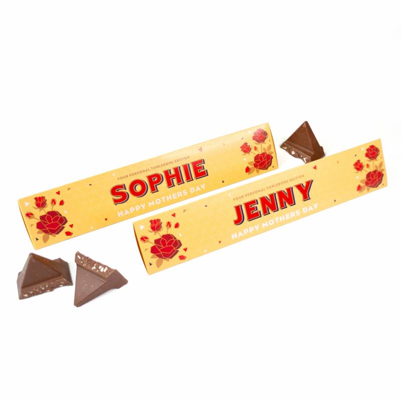 Personalised Mothers Day Toblerone